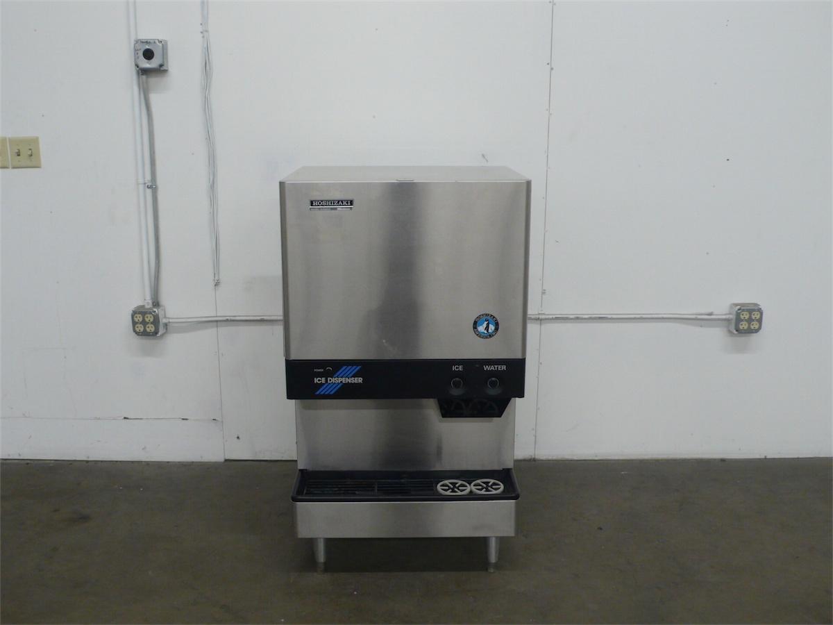 Hoshizaki Countertop Ice Maker : Hoshizaki DCM-450BAE 450 lb Cubelet and Water Dispenser Countertop Ice ...