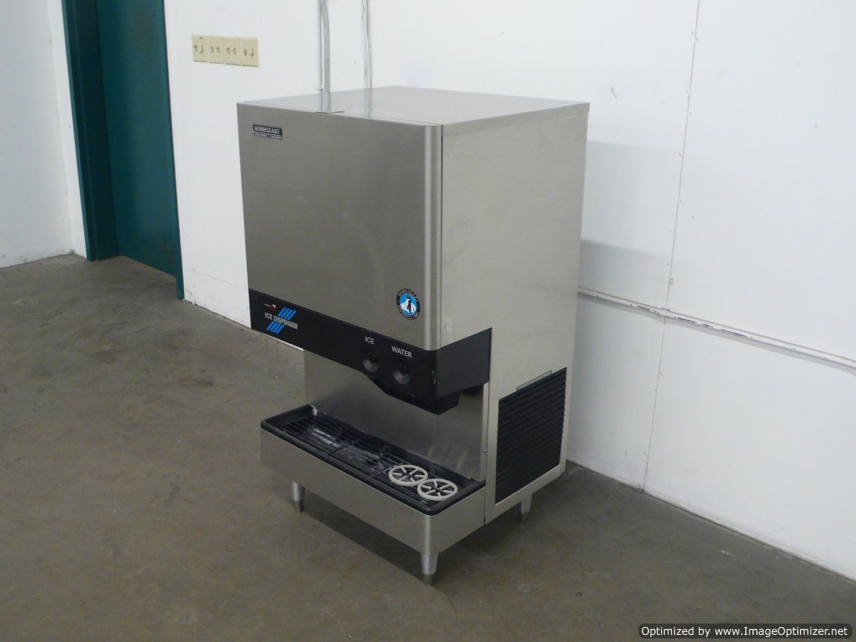 Hoshizaki Countertop Ice Maker : Hoshizaki DCM-500BAF 500 lb Cubelet and Water Dispenser Countertop Ice ...